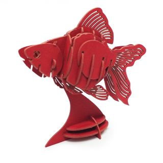 Peixe Dourado - QUEBRA CABEÇA 3D