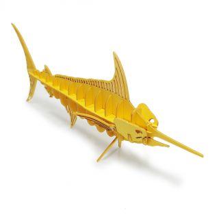 Peixe-Espada - QUEBRA CABEÇA 3D